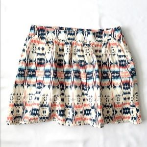 Cotton Aztec Old Navy Skirt